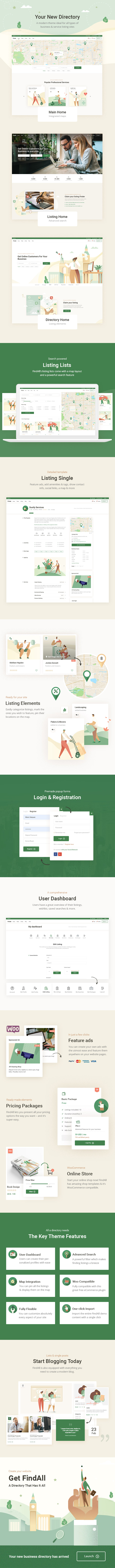 FindAll - Business Directory Theme - 1